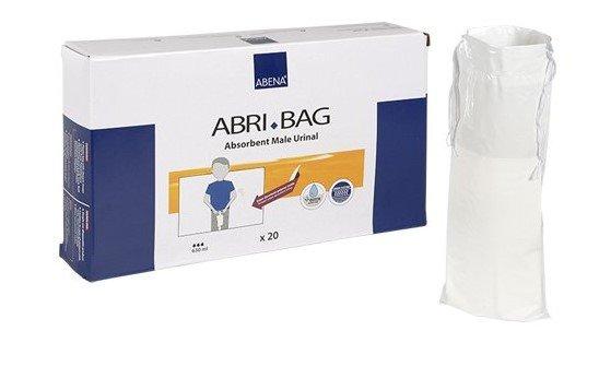 ABRI-BAG Absorbent Male Urinal Bags 20pcs