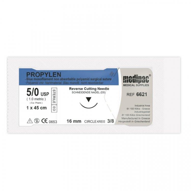 Medipac Propylen 5.0 Suture