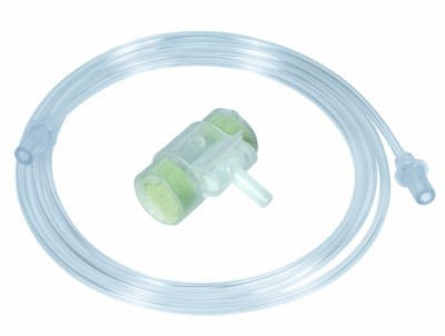 Hydro Trach II HME Filter with Oxygen Tube