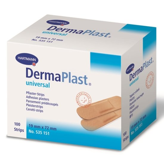 Dermaplast Adhesive Plasters (100pcs)