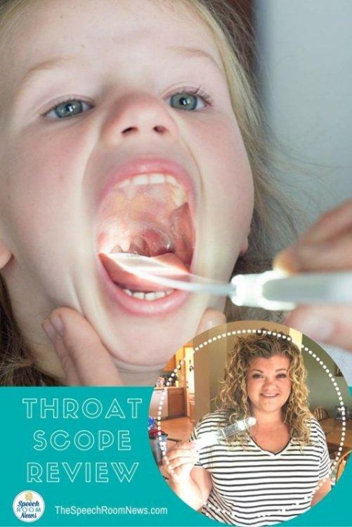 Τhroatscope Illuminated Tongue Depressor