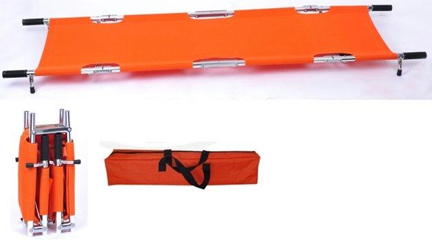 Emergency Folding Stretcher