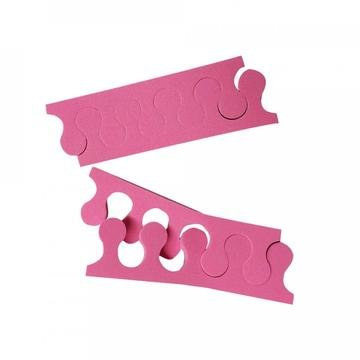 Διαχωριστικό Δακτύλων Πεντικιούρ Ροζ(100τμχ)
