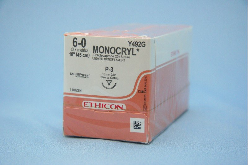 Monocryl 6.0 Suture