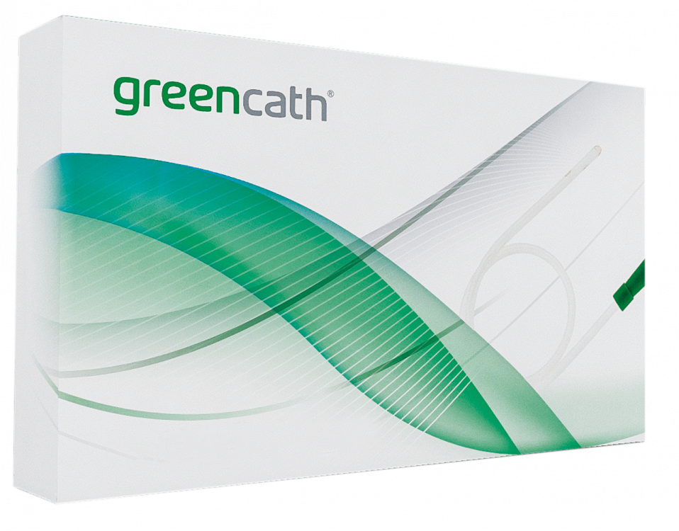 Καθετήρας αυτολιπαινόμενος Greencath Plus