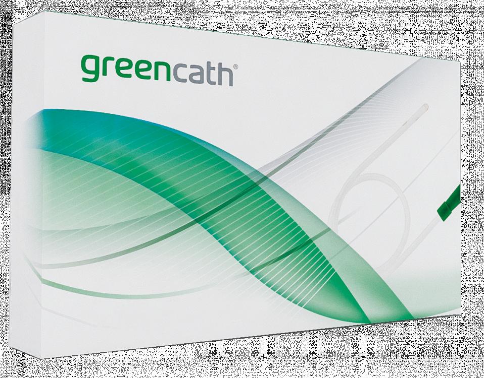 Greencath Self-lubricating Nelaton Catheter