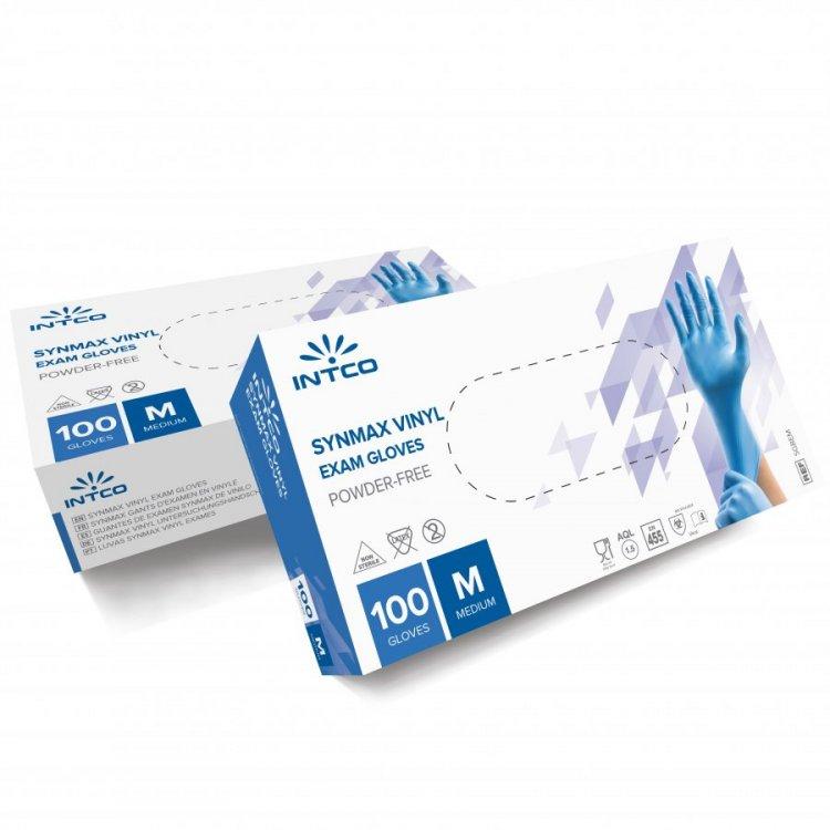 Synmax Εξεταστικά Συνθετικά Γάντια – Γαλάζια