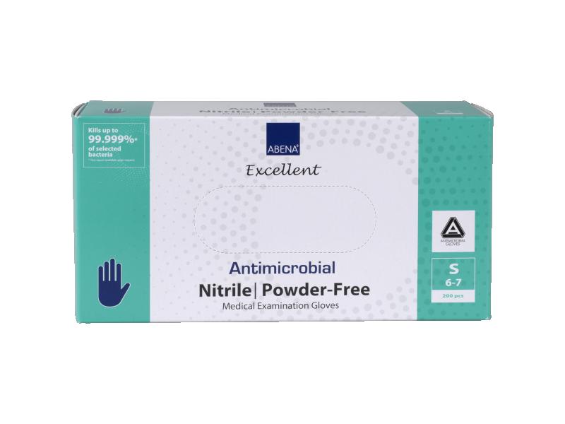 Excellent Antimicrobial Nitrile Gloves  200pcs