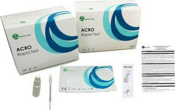 Τεστ Aντιγόνων Covid–19 Rapid (20τμχ)