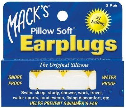 Mack's Silicone Ear Plugs