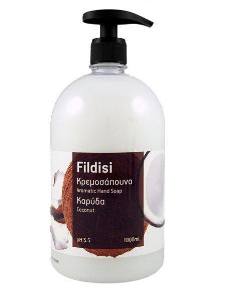 Κρεμοσάπουνο χεριών καρύδα 1lt Fildisi