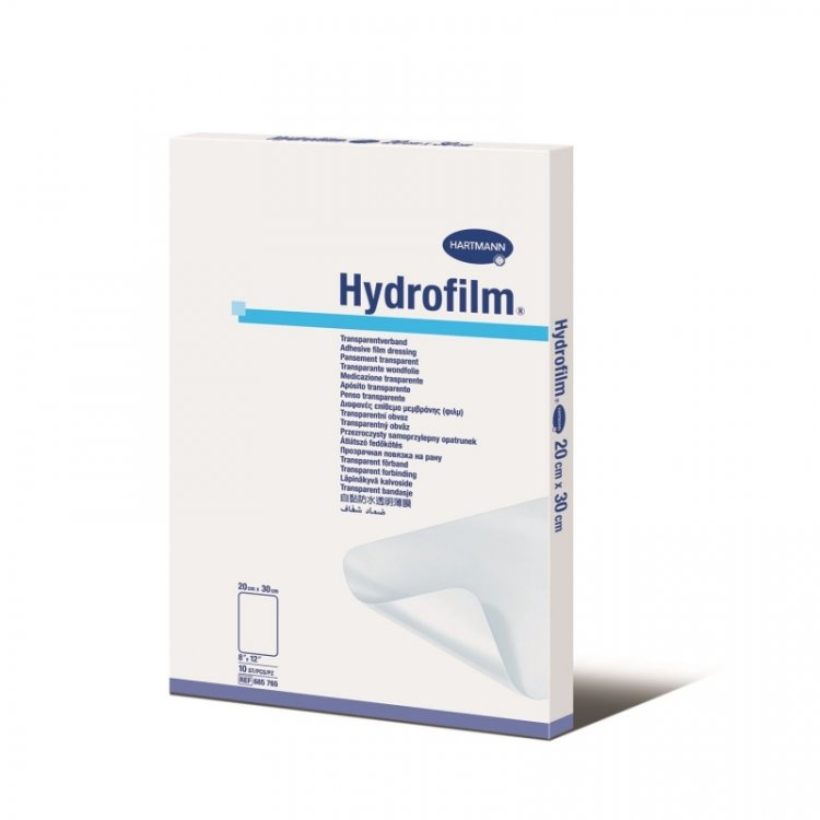 Hydrofilm Self-Adhesive Film Dressing Waterproof 20x30cm Plus  (10pcs)
