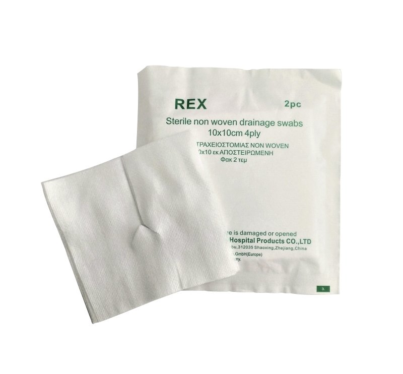 Rex Drain Tracheostomy Drainage Swabs (pack of 2)