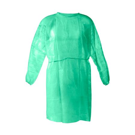 Non-woven Patient Gown - Transparent Green (10pcs)