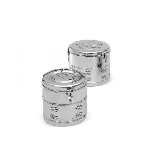Inox Gauze Disinfection Container