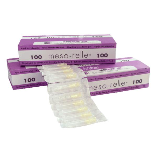 Βελόνες μεσοθεραπείας Mesorelle G31 (100τμχ)