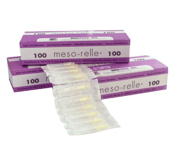 Βελόνες μεσοθεραπείας Mesorelle G27 (100τμχ)