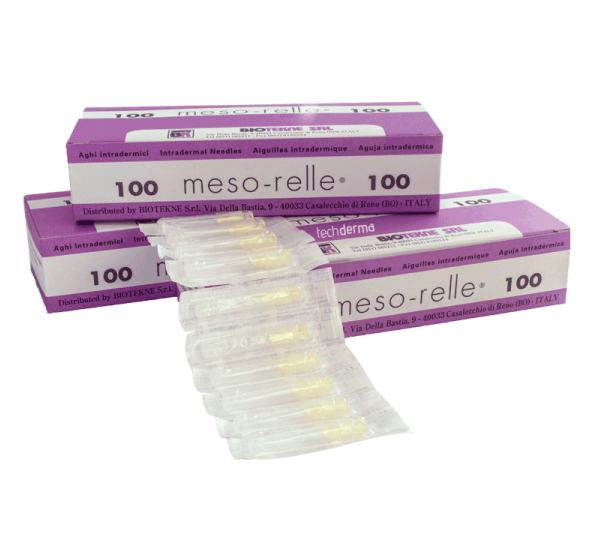 Mesorelle Mesotherapy Needles G27 (100pcs)