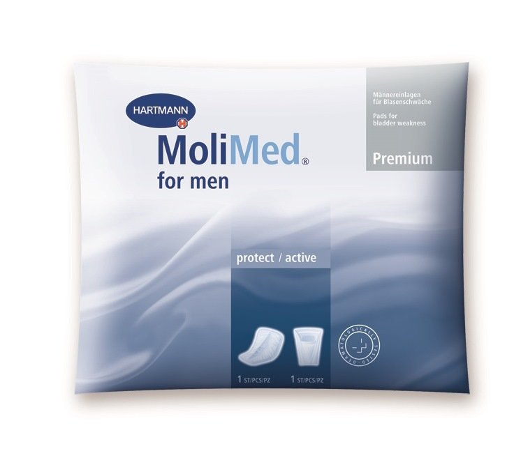 Molimed Incontinence Pads for Men (2 pcs) - SAMPLES