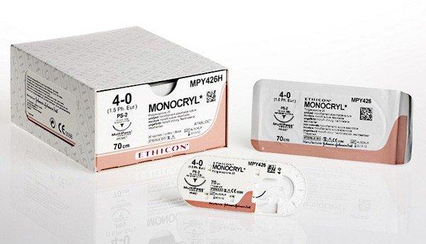 Monocryl 4.0 Suture