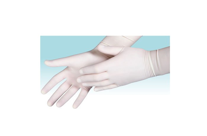 Γάντια αποστειρωμένα REX με πούδρα(ζεύγος)