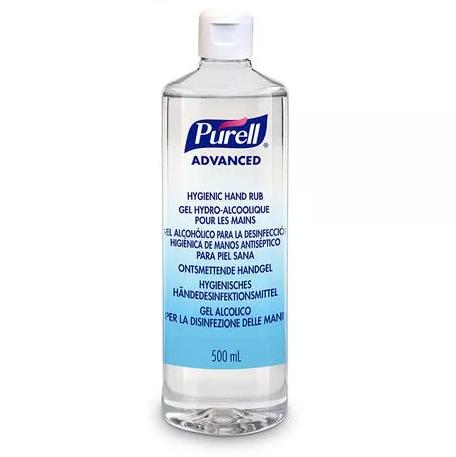 PURELL® Advanced Hygienic Hand Rub, 500mL with flip cap