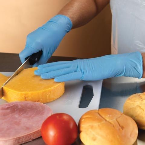 Supermax Nitrile Gloves  (100pcs)