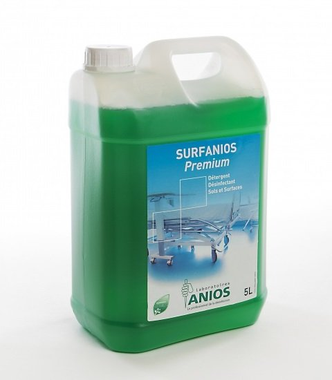 Απολυμαντικό επιφανειών/ δαπέδου Surfanios Premium 5lt