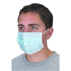 Μάσκες χειρουργικές μιας χρήσης (50τμχ)