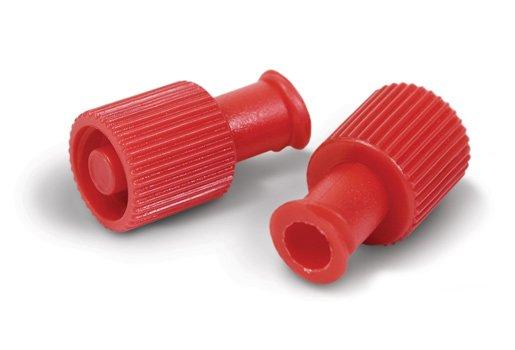 Πώματα luer lock για σύριγγες