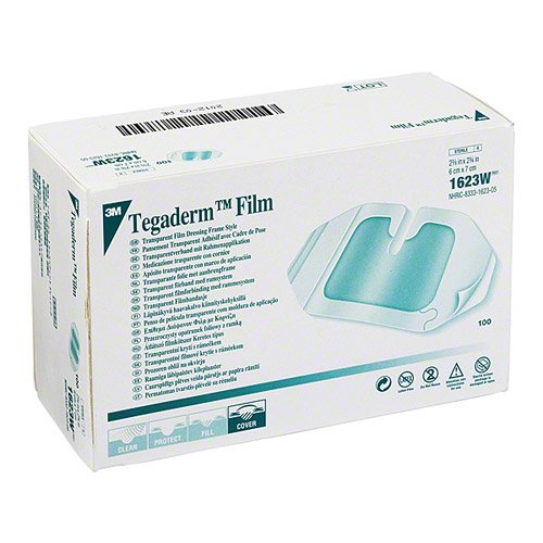 Tegaderm Transparent Film Dressing Notched W1623 (100pcs)