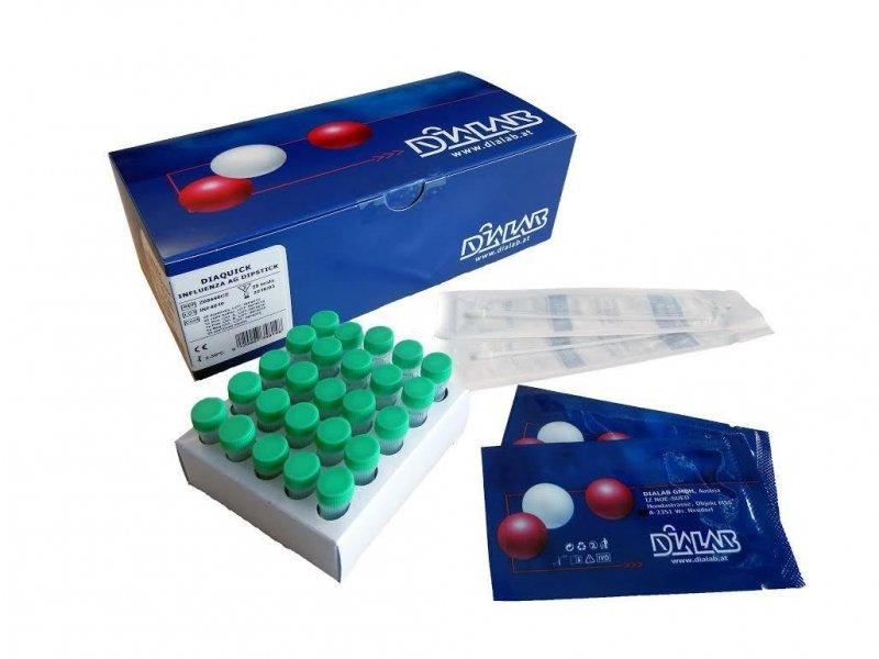 Ag Dipstick Influenza Rapid Test  10pcs