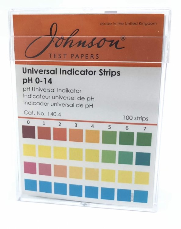Ph Indicator Paper (Strips) 100pcs