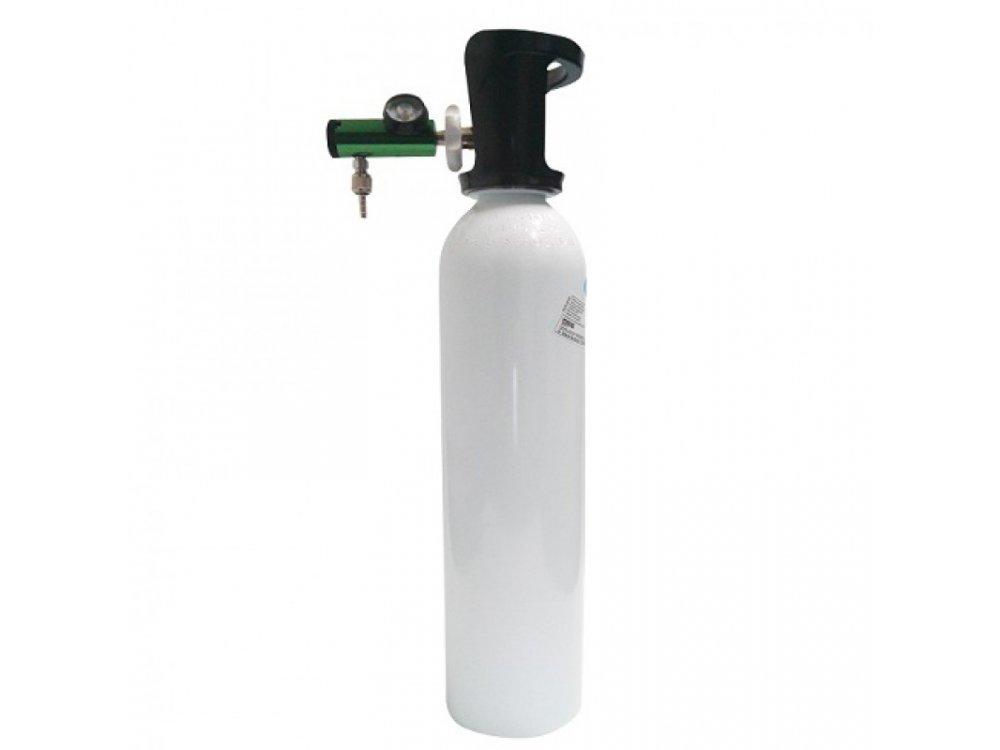 Oxygen Cylinder with Flow Meter