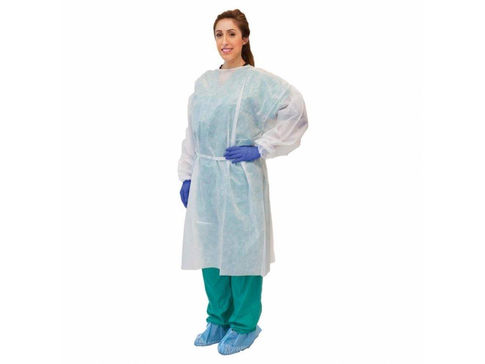 Non-woven Reusable Visitor Gown