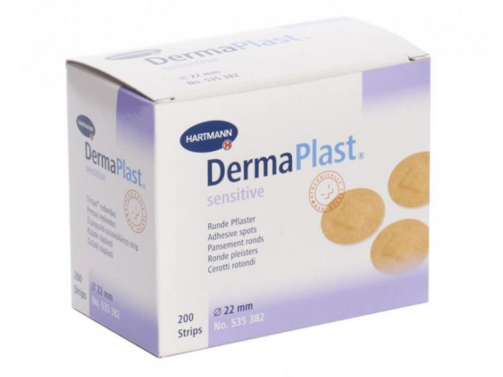 Dermaplast στρογγυλά (200τμχ)
