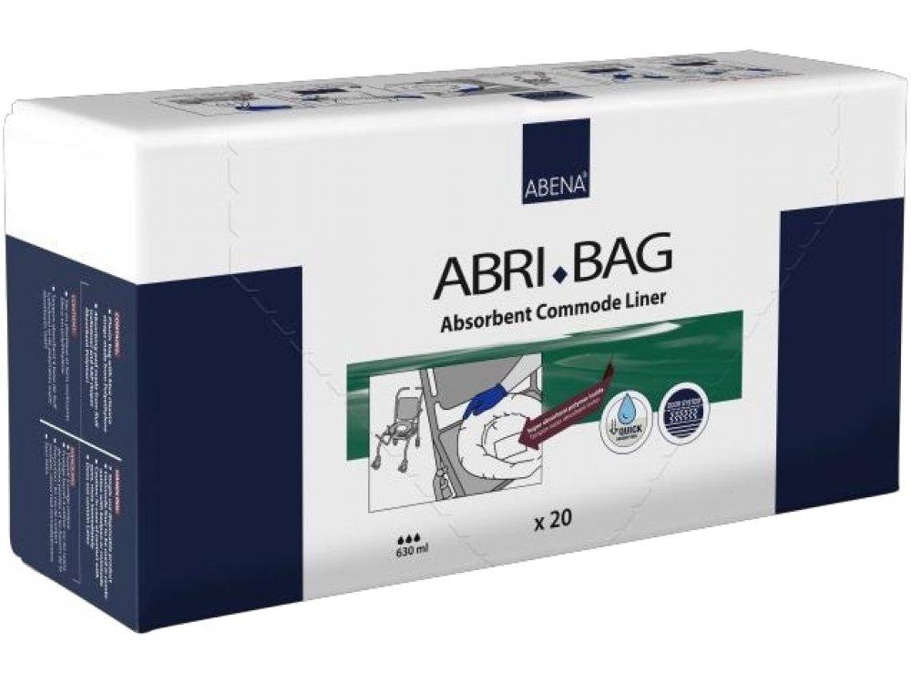 ABRI-BAG Absorbent Commode Liner (20pcs)