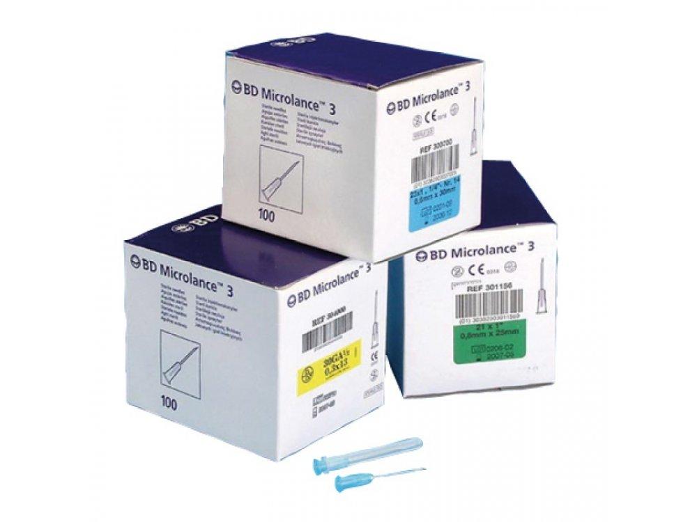 Βελόνες ενέσεων Microlance BD (100τμχ)