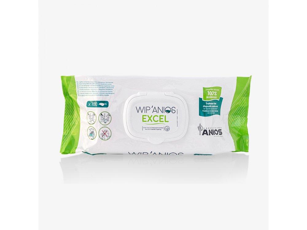 Μαντηλάκια απολυμαντικά Wipanios Premium (100Τ)