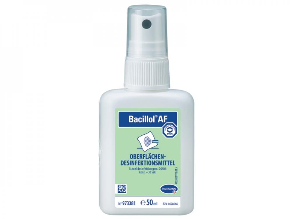 Spray απολυμαντικό επιφανειών Bacillol ΑF 50ml