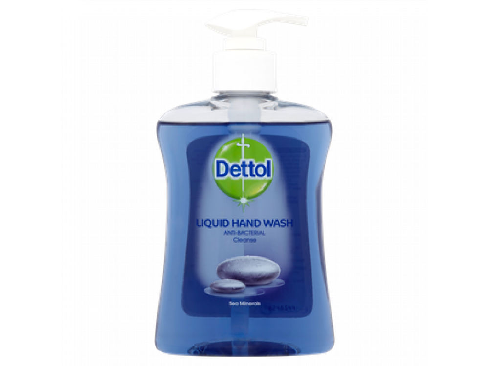 Dettol Cleanse - Liquid Hand Wash with Pump 250ml