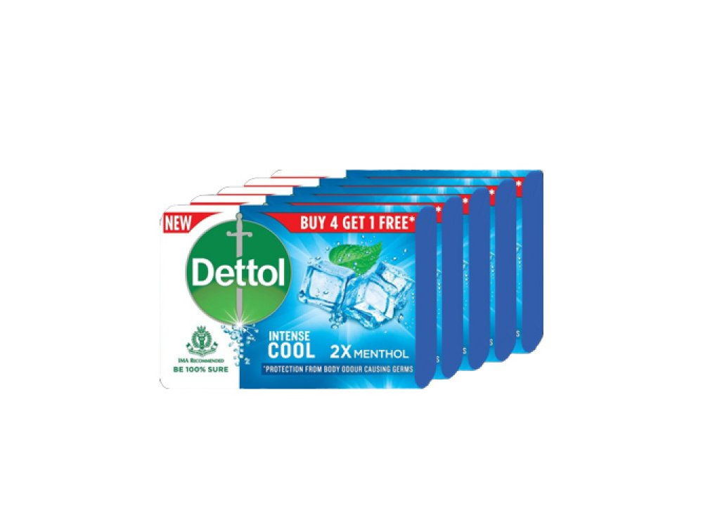 Dettol Soap Bars (5pcs)