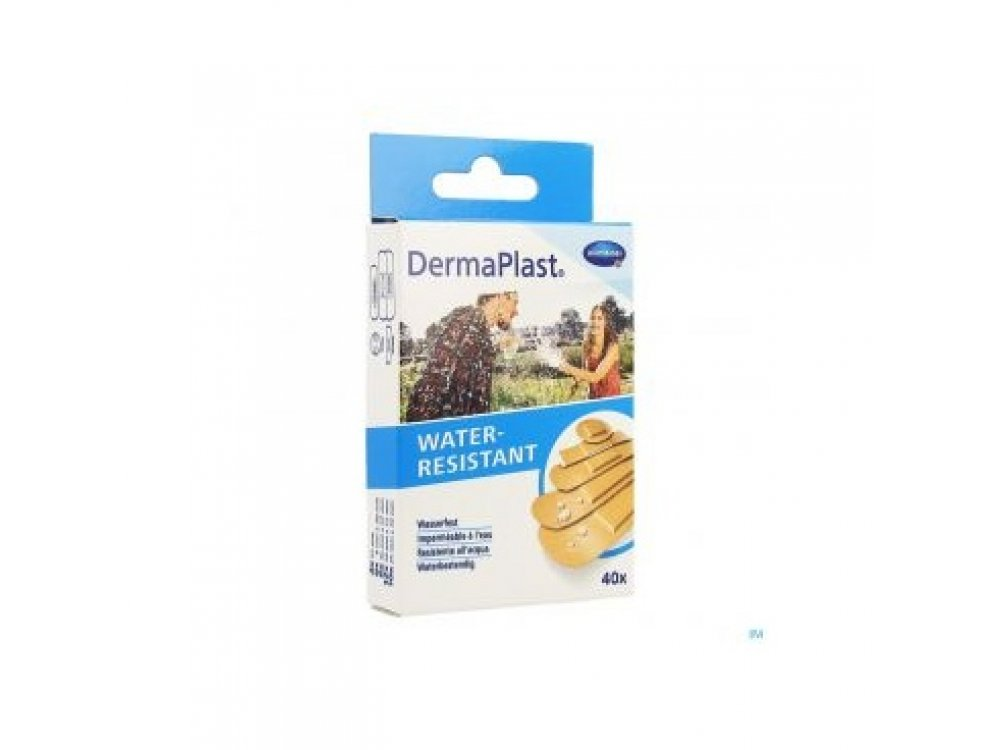 Dermaplast Αδιάβροχα - 5 Μεγέθη  (40τμχ)
