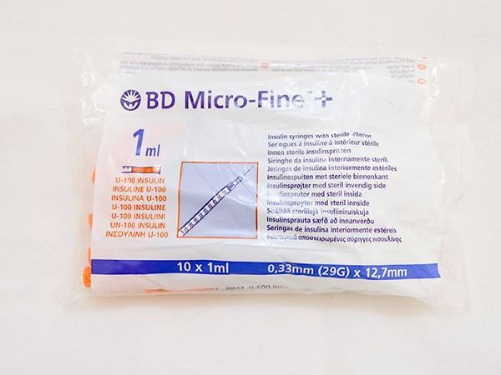 BD Micro - Fine Insuline Syringe 0,3ml 29G (10pcs)