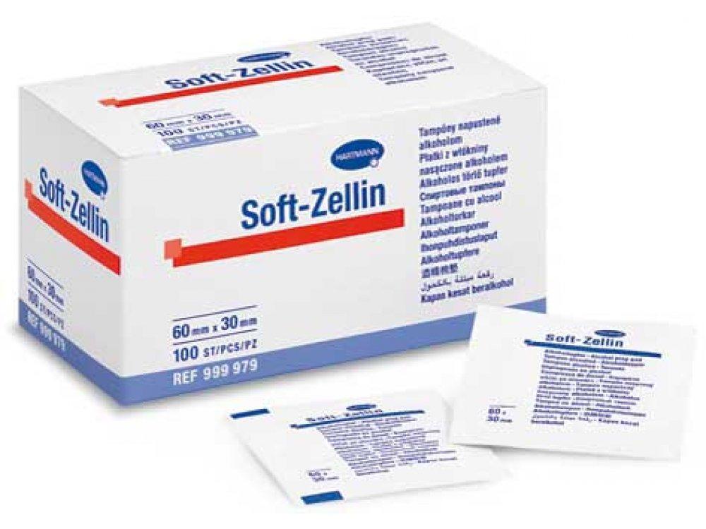 Εμποτισμένα επιθέματα Soft - Zellin (100τμχ)