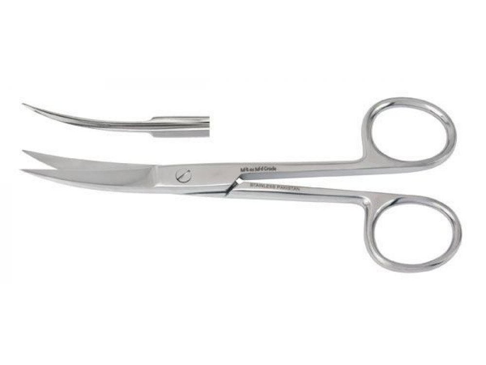Curved Surgical Scissors Sharp / Sharp