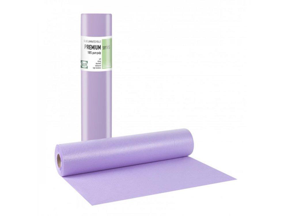 Εξεταστικό χαρτί πλαστικοποιημένο Μωβ