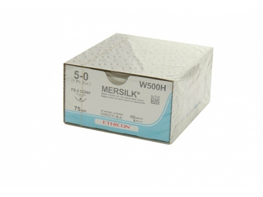 Mersilk 5.0 Suture