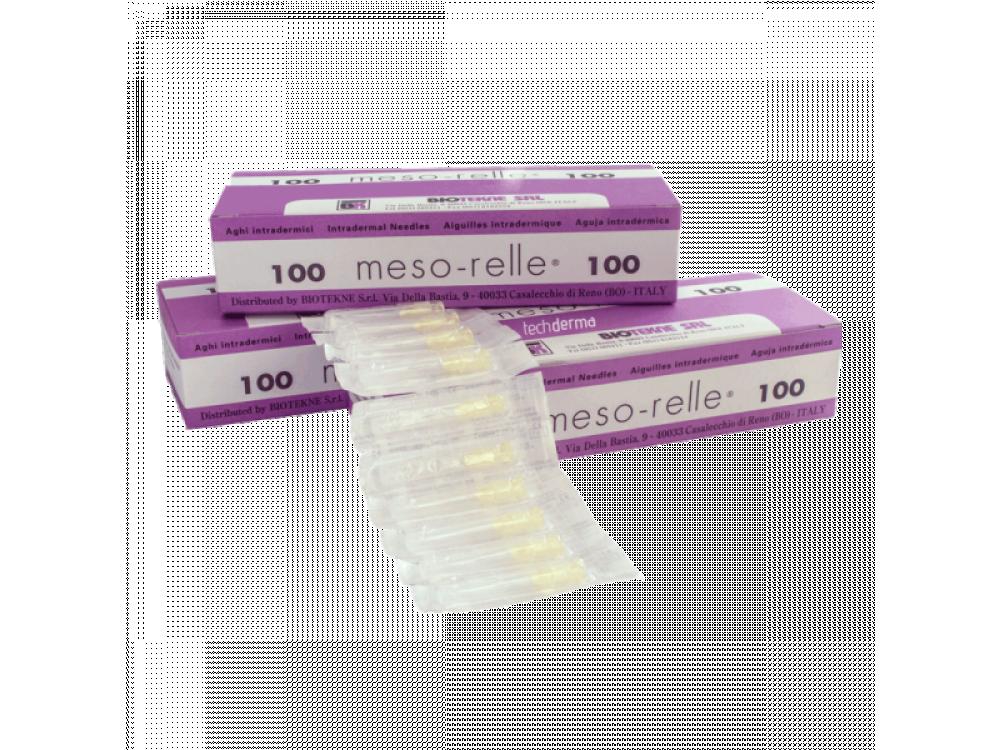 Βελόνες μεσοθεραπείας Mesorelle G32 (100τμχ)
