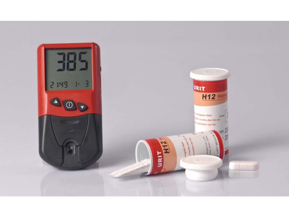 Urit 12 Hemoglobin Meter
